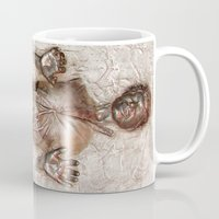 han solo Mugs featuring Han Solo In Carbonite by Graphic Craft