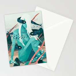 Heavy water Stationery Cards