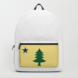 Flag of Maine, 1901-1909 Backpack