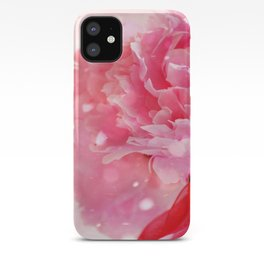 Pretty Pink Peonies :) iPhone Case