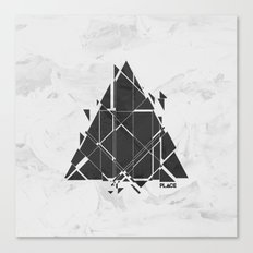 PLACE Triangle V2 Canvas Print