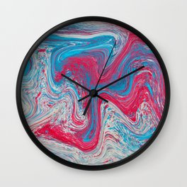 Speckled Eyeshadow Wall Clock
