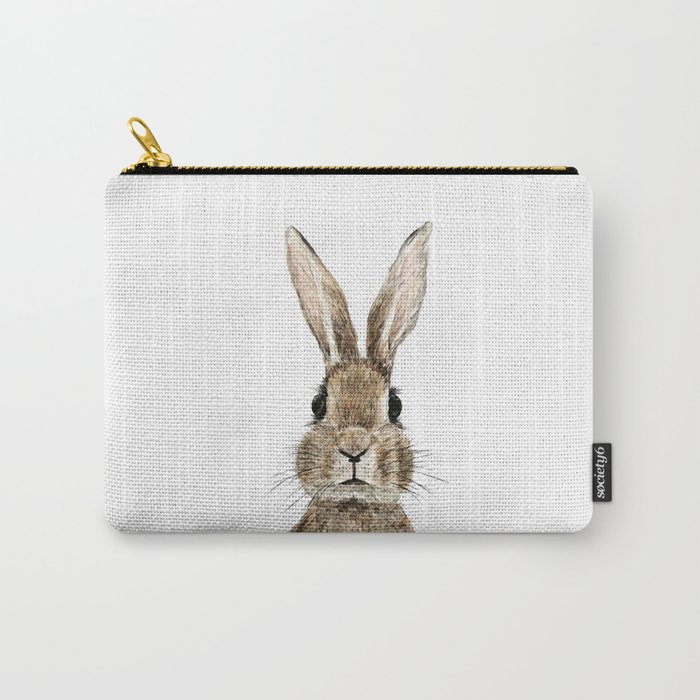cute innocent rabbit Carry-All Pouch