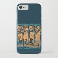 vikings iPhone & iPod Cases featuring Vikings by RicoMambo