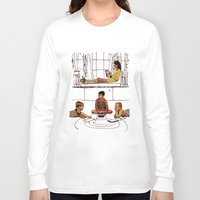 moonrise kingdom Long Sleeve T-shirts featuring moonrise kingdom by sharon