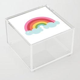 Rainbow Acrylic Box