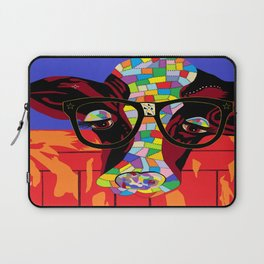 Spectacled Cow Laptop Sleeve