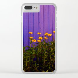 rudbeckia 2 Clear iPhone Case
