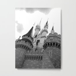 Disney Castle Metal Print