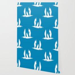 cornered! (bunny and crocodile) Wallpaper