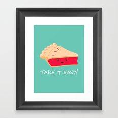 A slice of advice! Framed Art Print