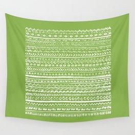 Tribal Greenery Wall Tapestry