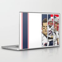 patriots Laptop & iPad Skins featuring Brady Champion Super Bowl XLIX  by Akyanyme