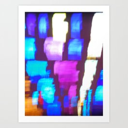 Finger (Glass) Painting Art Print