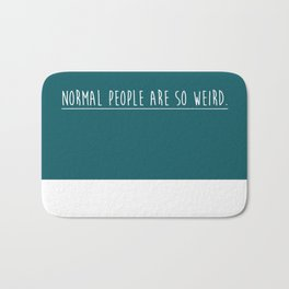 Quote Bath Mat