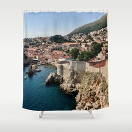 King's Landing, Dubrovnik Shower Curtain