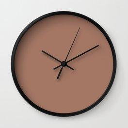Mocha Mousse Wall Clock