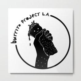 Burrito Project L.A. Metal Print