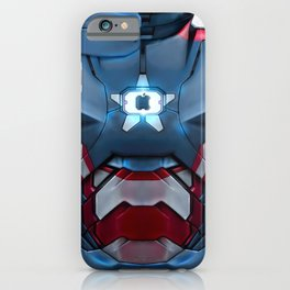 Iron/Patriot body armor. iPhone Case