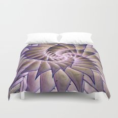 Round and Round. Duvet Cover
