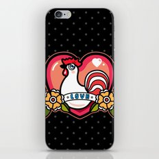 LOVELY ROOSTER iPhone & iPod Skin