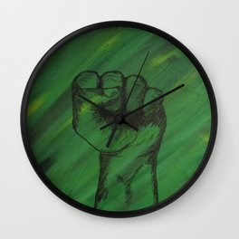 Join The Movement Wall Clock