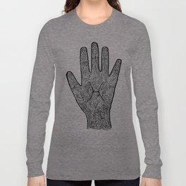 Pisces Hand / Hamsa Long Sleeve T-shirt