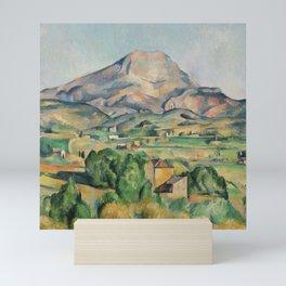 Paul Cezanne Mont Sainte-Victoire (La Montagne Sainte-Victoire) 1892-1895 Mini Art Print