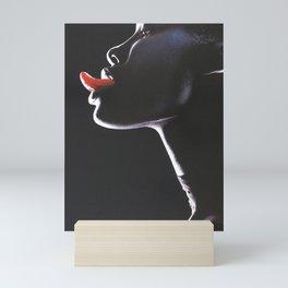 The Tongue Mini Art Print