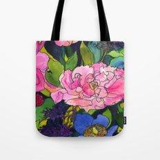 French Lavender & Roses Tote Bag