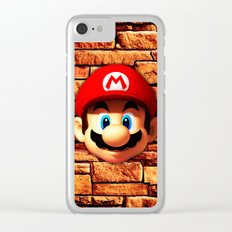 Mario Bross Clear iPhone Case
