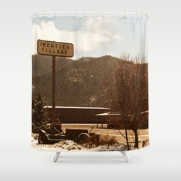 Frontier Village.... Shower Curtain