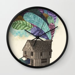 birdhouse revisited Wall Clock