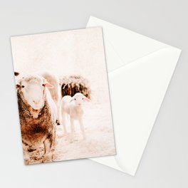 Milly's family portrait Stationery Cards