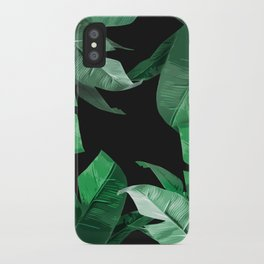 Tropical Palm Print #3 iPhone Case