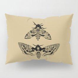 Antique Deaths Head Hawk Moth Pointillism Pillow Sham