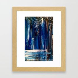 Something out of Nothing Framed Art Print