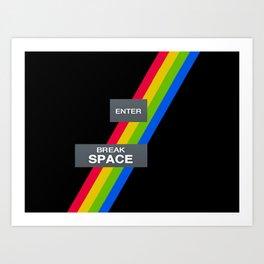 ZX SPECTRUM Art Print