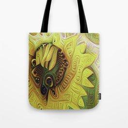 Sunflower Crazy Tote Bag