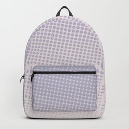 Lilac Halftone Backpack