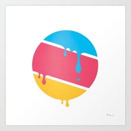 PLANET DROOLE#BYP Art Print