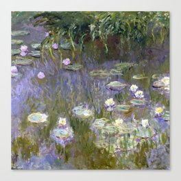 "Claude Monet ""Water lilies""(2) Canvas Print"