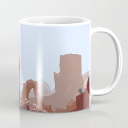 The Blue Tower Coffee Mug