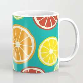 citrus pattern Coffee Mug