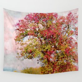 Romantic autumn Wall Tapestry