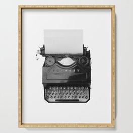 typewriter Serving Tray