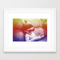 boss Framed Art Prints featuring Boss by The Dreamaholic
