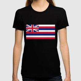 Flag of Hawaii, High Quality image T-shirt