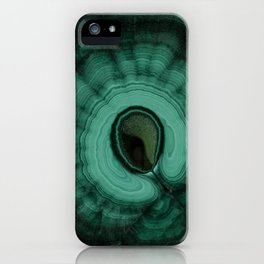 Malachite detailed pattern iPhone Case