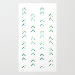 Mountain Vibes Art Print